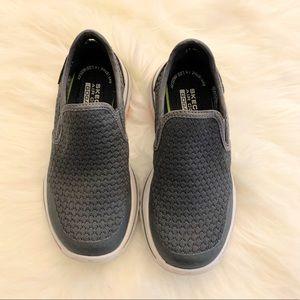 Sketchers | Grey slip on shoes